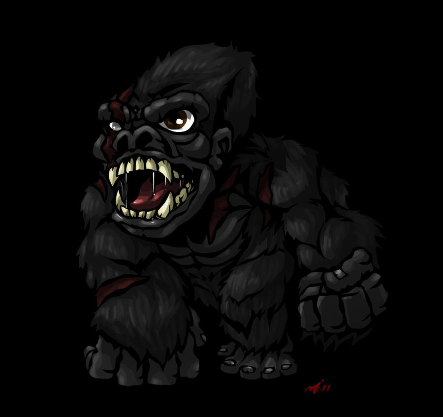 SD King Kong by DeTinteyLengua