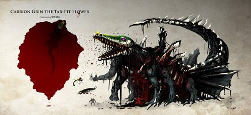 Colossus of Death by DeTinteyLengua