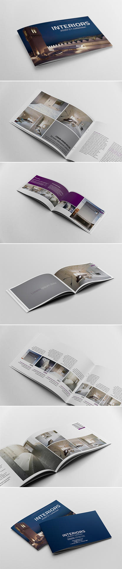 Catalogue - Booklet Template by andre2886
