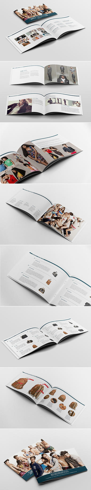 Catalogue / Portoflio Template by andre2886
