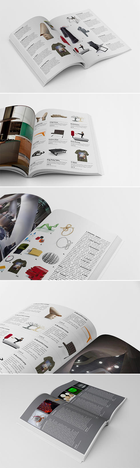 5 Magazine Advertising Templates 02 by andre2886