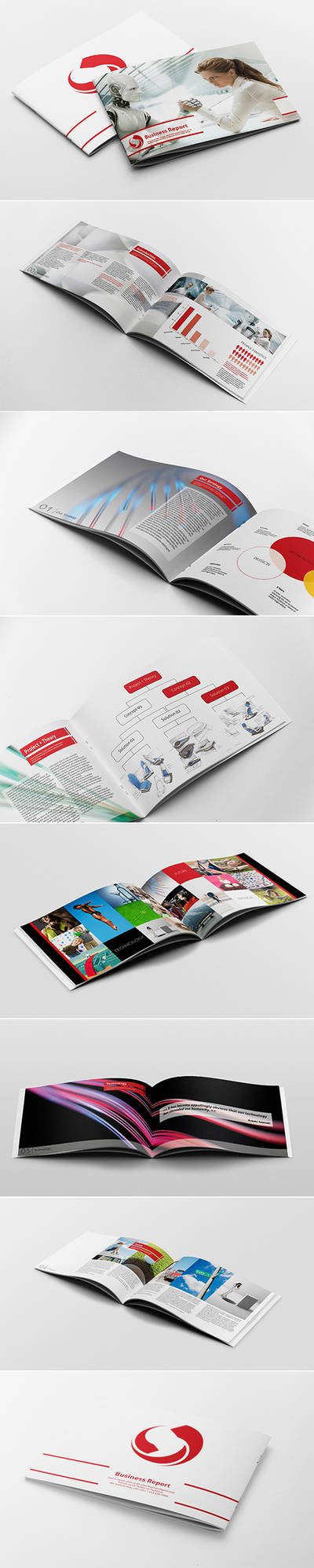 Business Report Template by andre2886