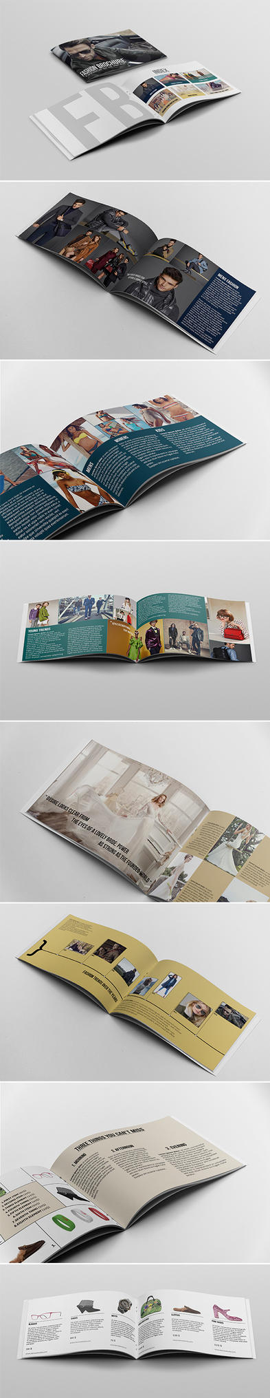 Brochure / Catalogue Template by andre2886