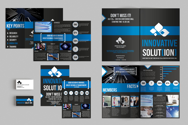 Set of Brochures / Stationery 06