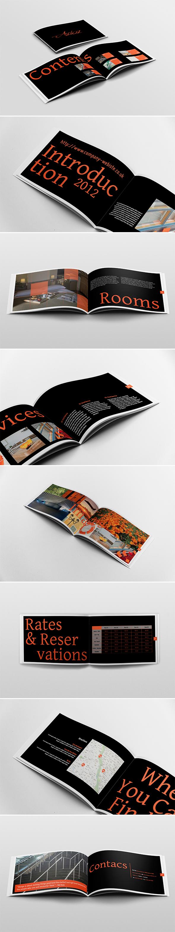 Horizontal Brochure