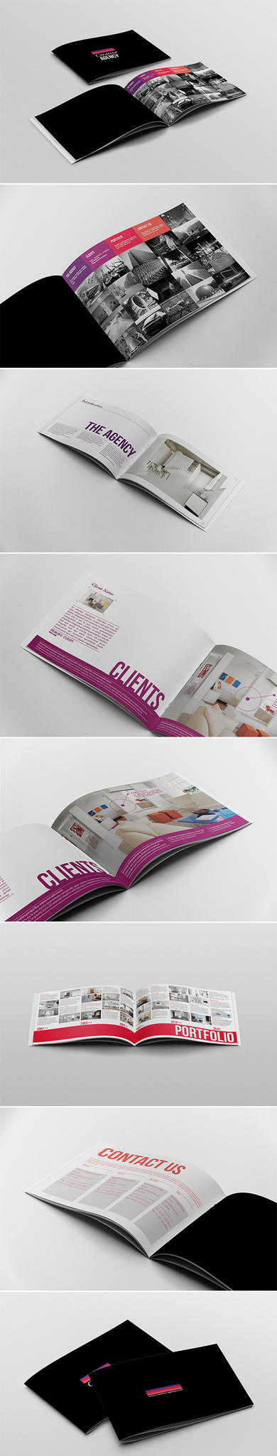 Portfolio / Brochure Template by andre2886