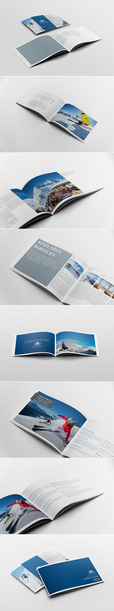 Travel Brochure / Guide Template by andre2886