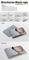 Photorealistic Landscape Brochure Mock-ups