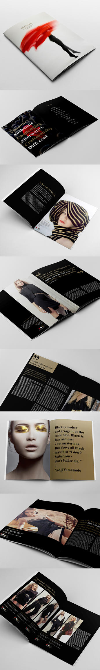 Fashion Catalogue / Brochure Template by andre2886