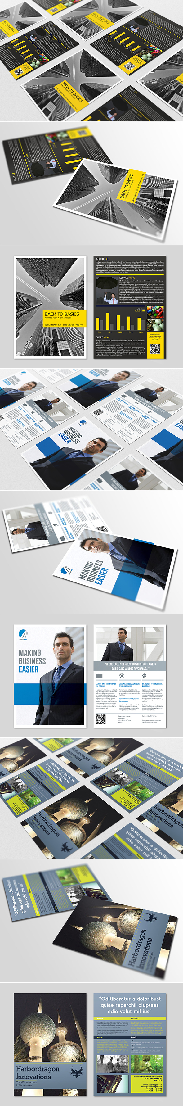 Business Flyers Bundle Pack