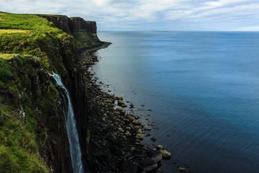 Kilt Rock in the Isle of Skye by andre2886