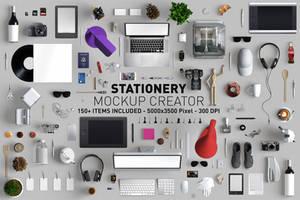 Hero Stationery Mockup Creator by andre2886