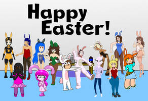 Happy Easter 2019! by SD-The-Doodler