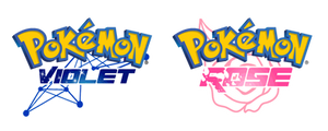 Pokemon Rose and Pokemon Violet Versions