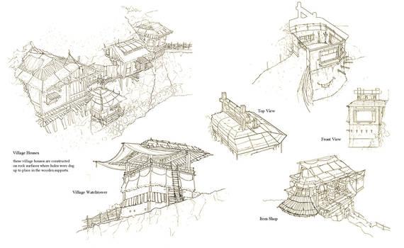 Village Sketch