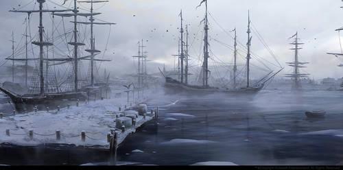 Boston Port Fog