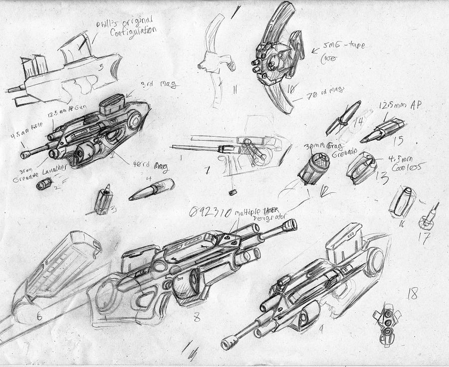 Guns for Phill by korblborp