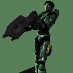 Spartan Jade by korblborp