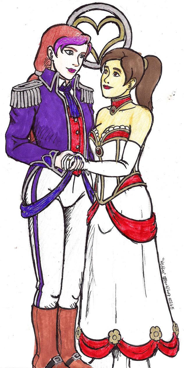 Wedding by korblborp