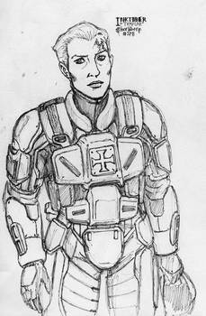 Inktober - Templar
