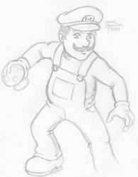 Mario by korblborp