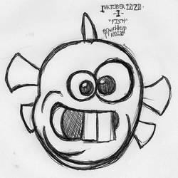 Inktober 2020 - I - Fish