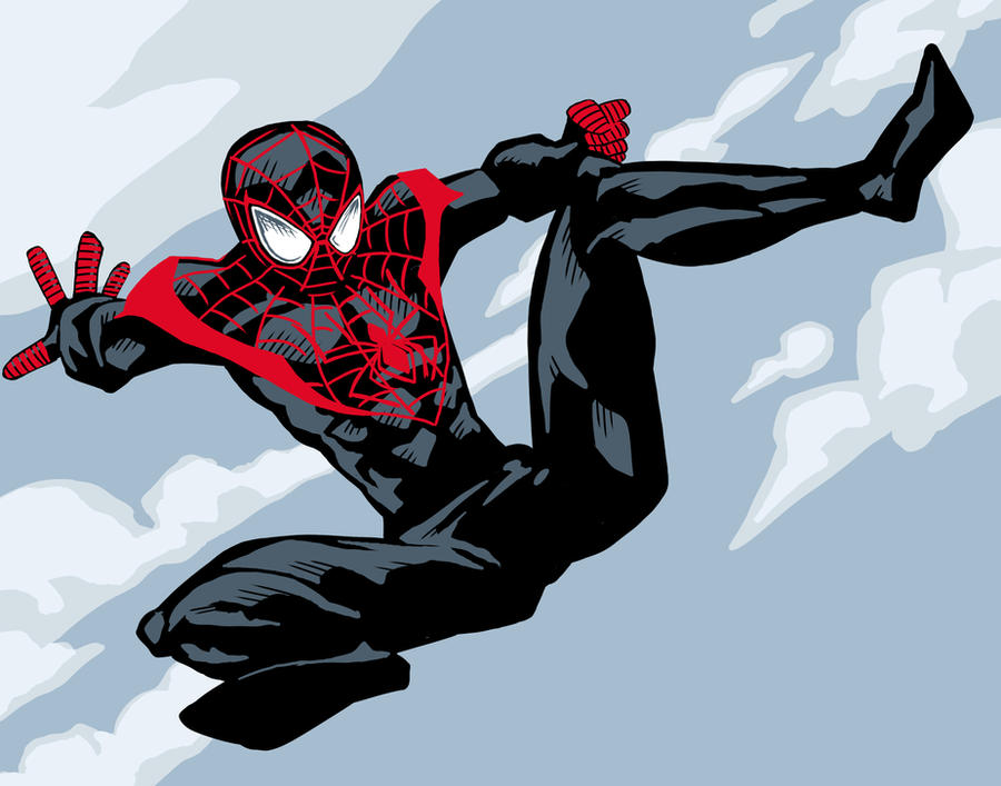 New Ultimate Spider-Man by artistjerrybennettHow To Draw Ultimate Spider Man