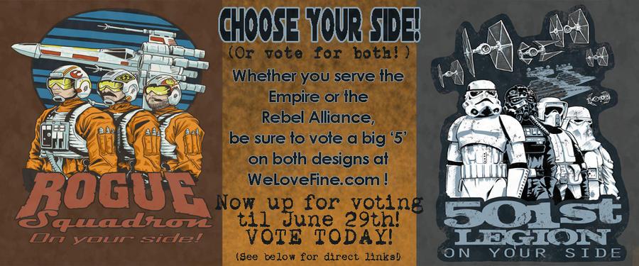 Star Wars Contest NOW VOTING by artistjerrybennett