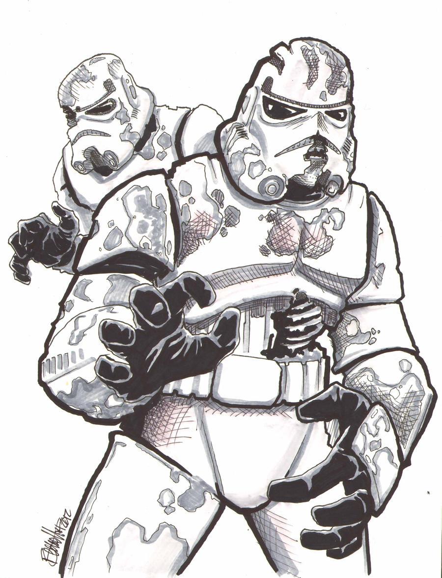 Death Troopers Art