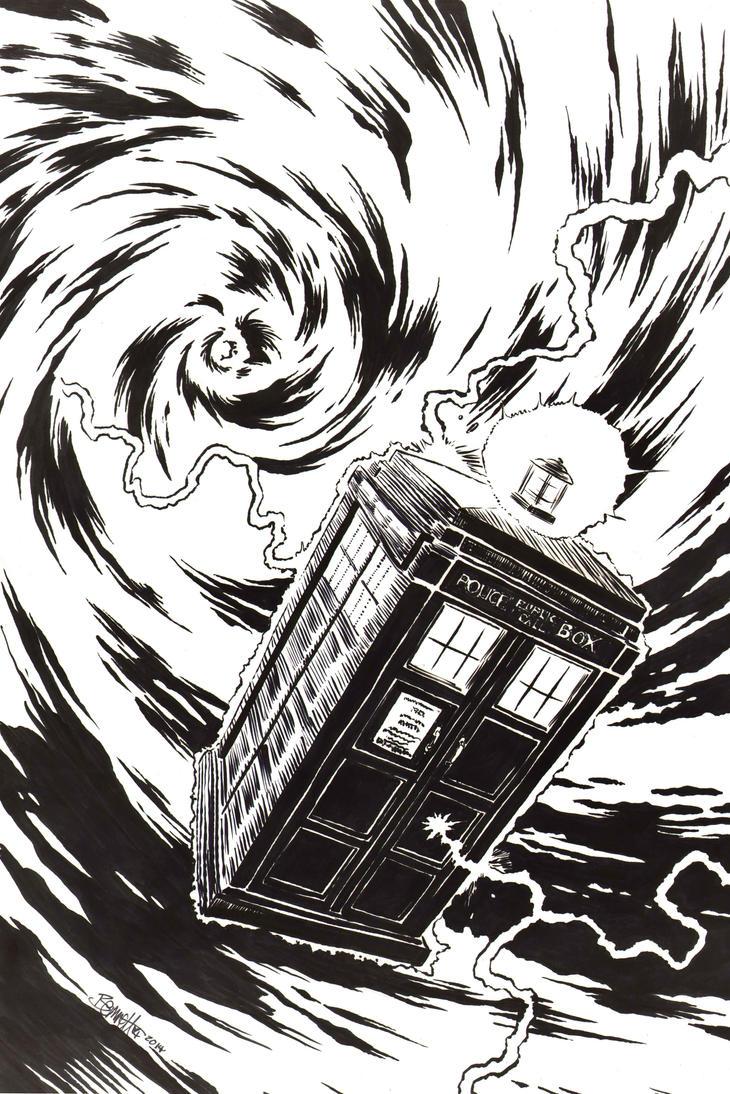 TARDIS by artistjerrybennett