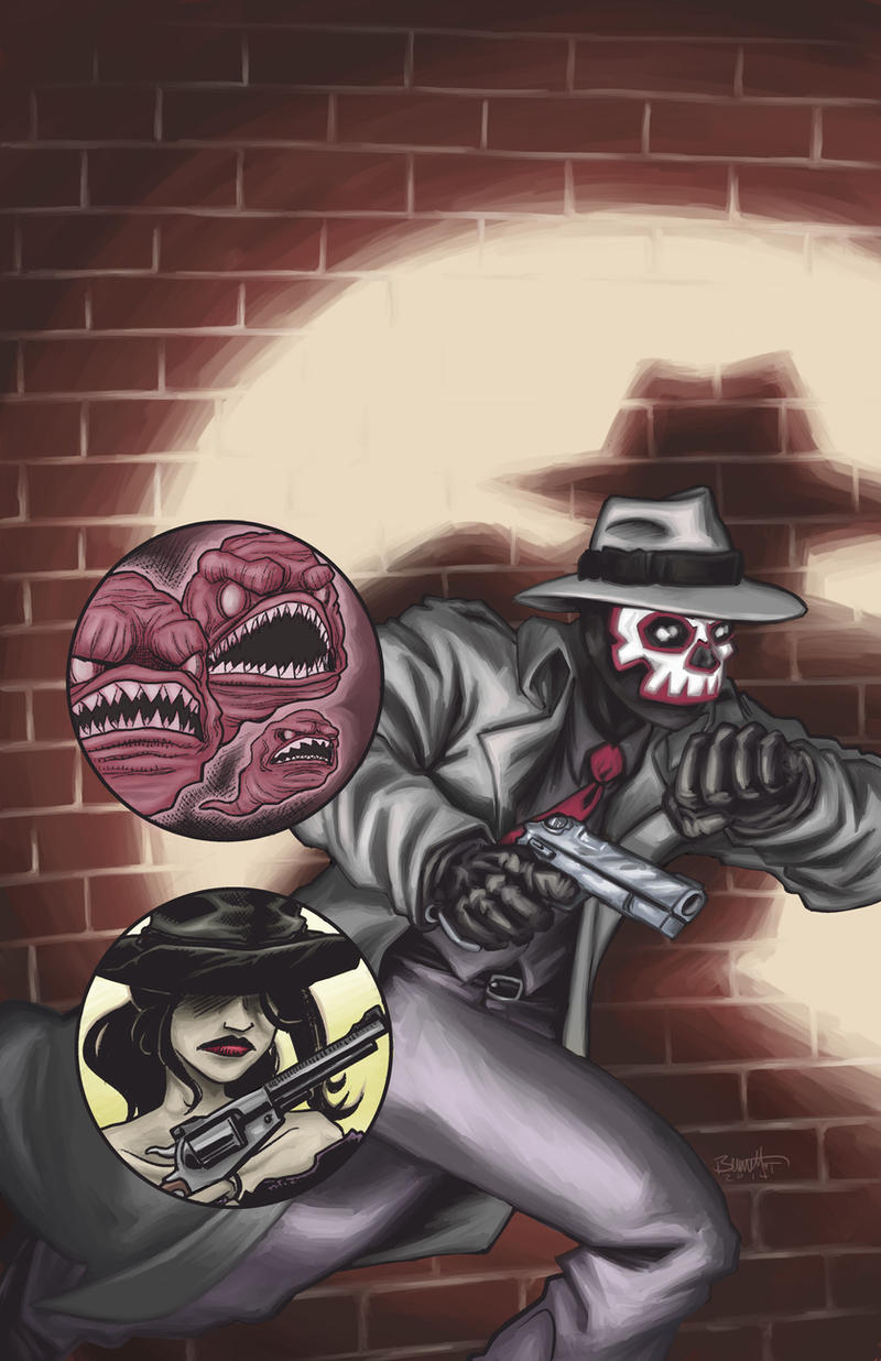 Speeding Bullet Comics Presents #1 by artistjerrybennett