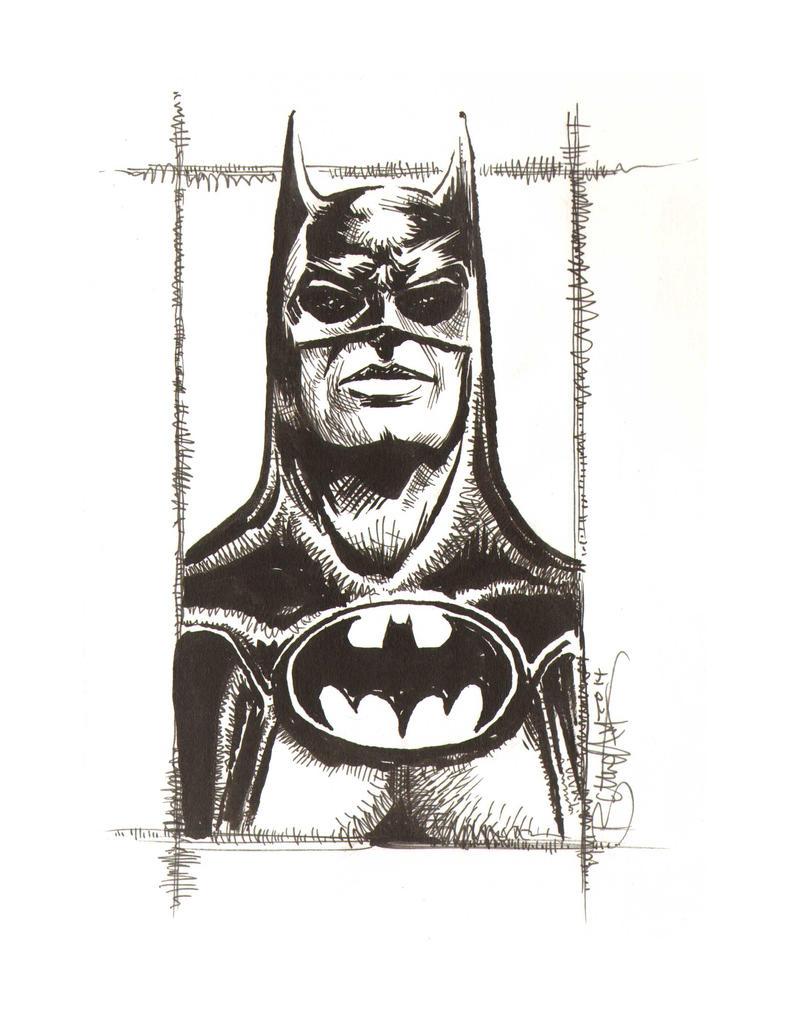 Batman Returns Batman by artistjerrybennett