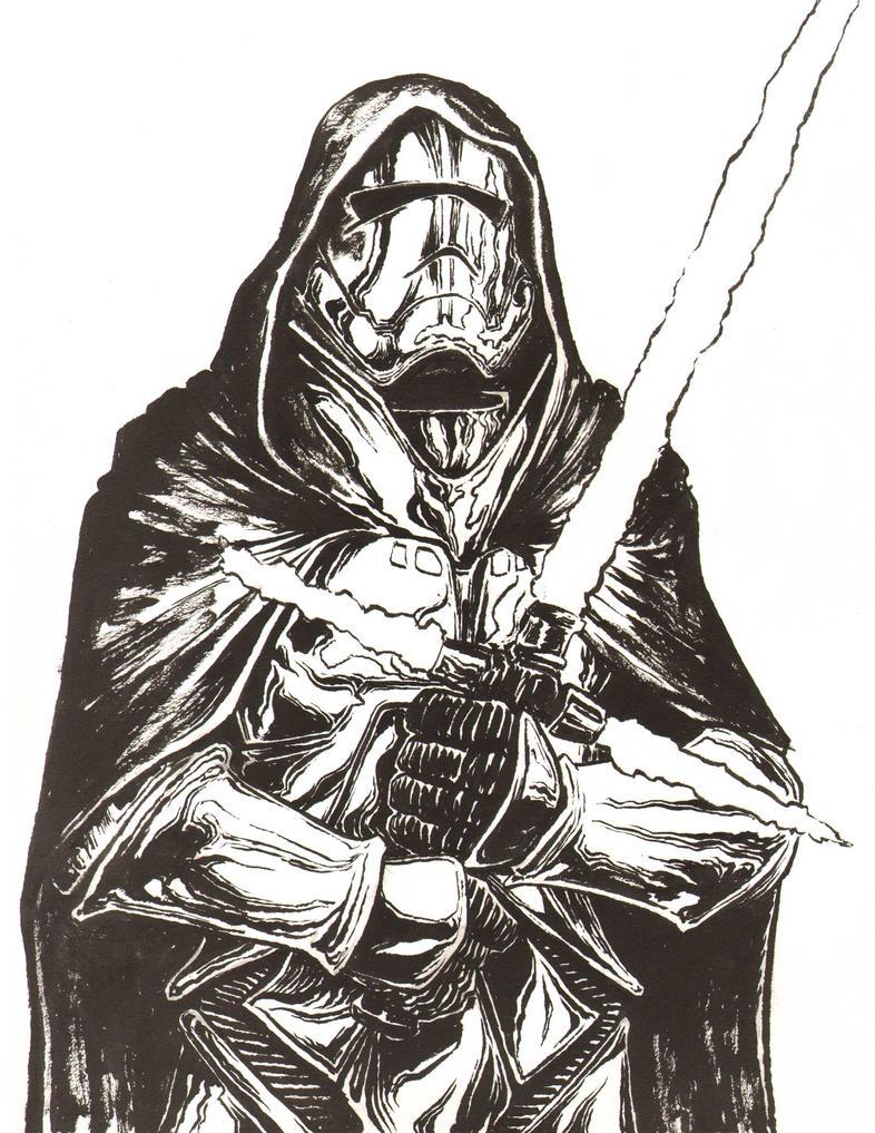 Chrome Trooper Knight by artistjerrybennett