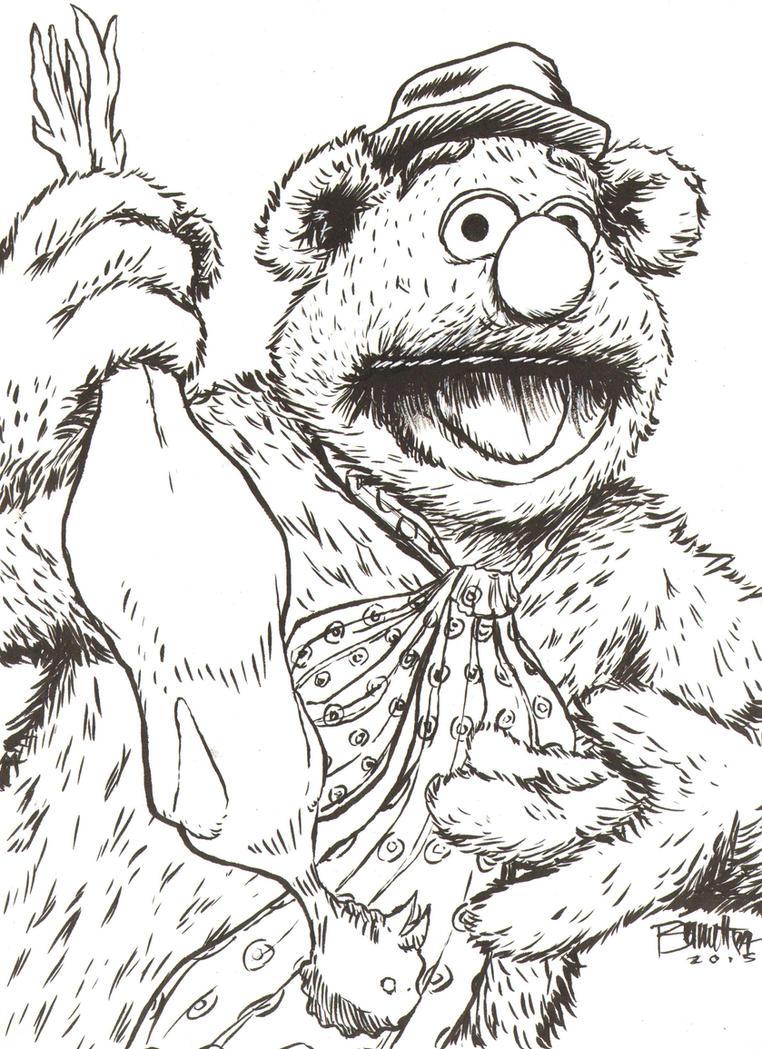 Fozzie Bear by artistjerrybennett