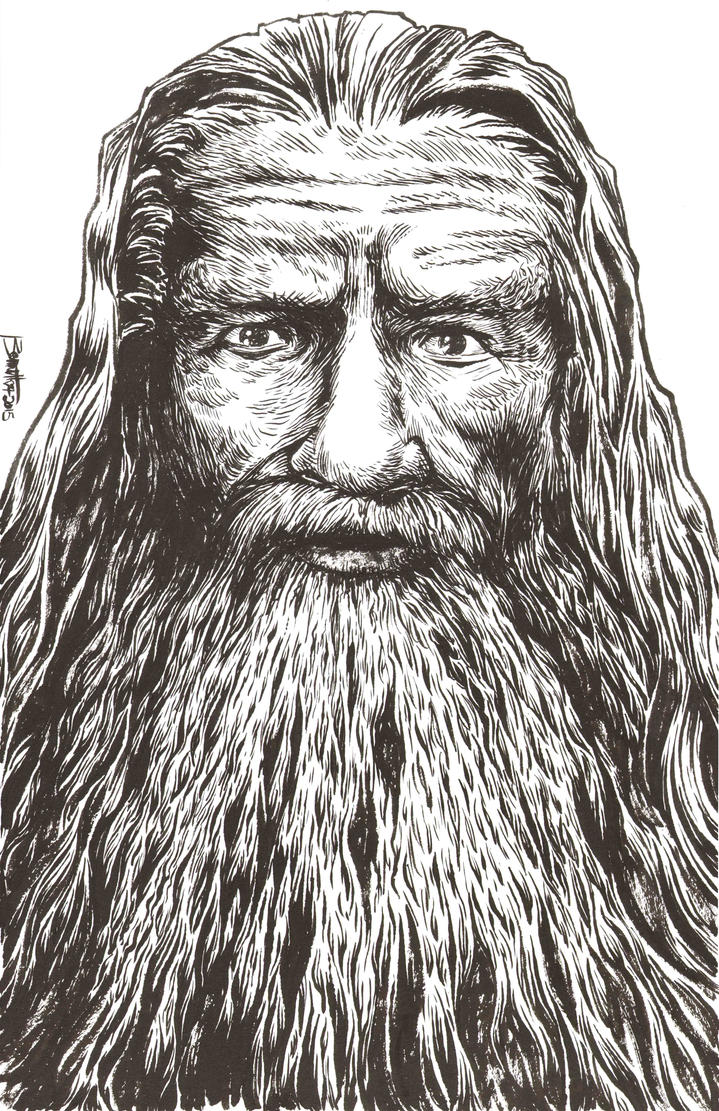 Gandalf by artistjerrybennett
