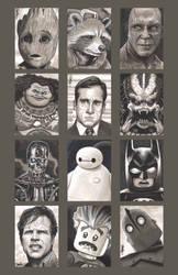 Sketchcard- Various