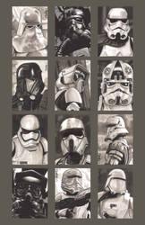 Sketchcards - Imperial Troops