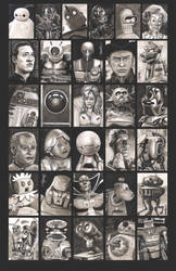 Sketchcards - March of Robots