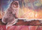 Autumn Fire by JenniferWeiler