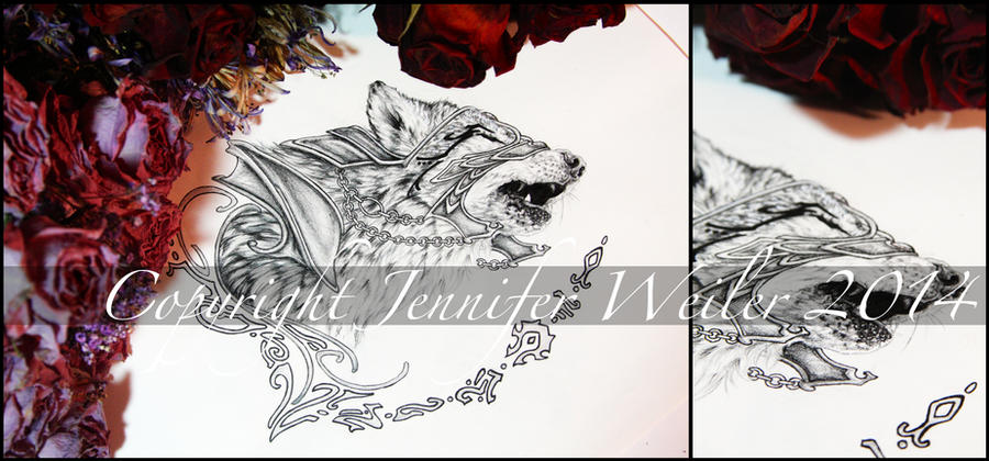 Elven Wolf by JenniferWeiler