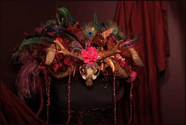 Artemis Headdress by JenniferWeiler