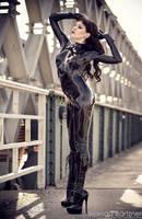 Psylocke Fantastic Rubber I by BelindaBartzner