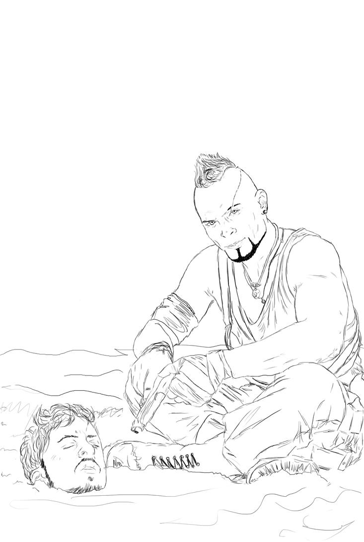 Far Cry 4 Coloring Page Coloring Pages Cry Coloring Page