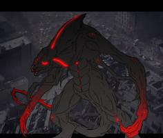 Kaiju: MUTO [GODZILLA 2014] by Cyprus-1