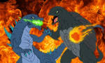 Kaiju: Gamera-vs-Zilla [Complete] by Cyprus-1