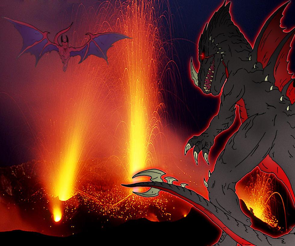 Kaiju: Volcanic Rage by Cyprus-1