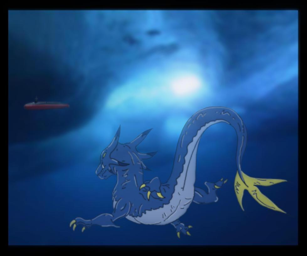 Kaiju: Submerged [SLIERUS] by Cyprus-1