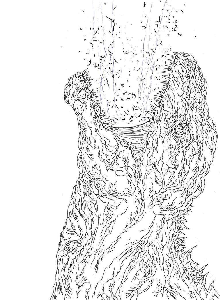 Soon to come [Shin Godzilla 2] by Cyprus-1