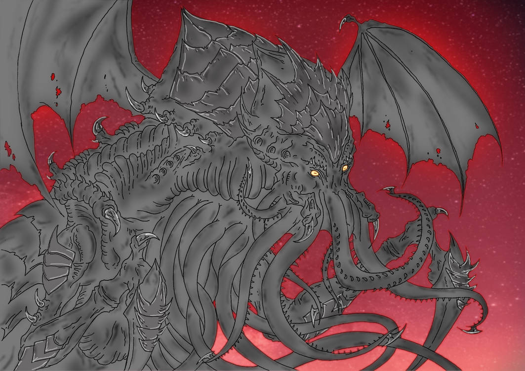 Hororr: The Cosmic Horror [Tyrannid X Cthulhu] by Cyprus-1 on DeviantArt