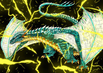 Kaiju: The Thunder God [Wyvern Raijin] by Cyprus-1